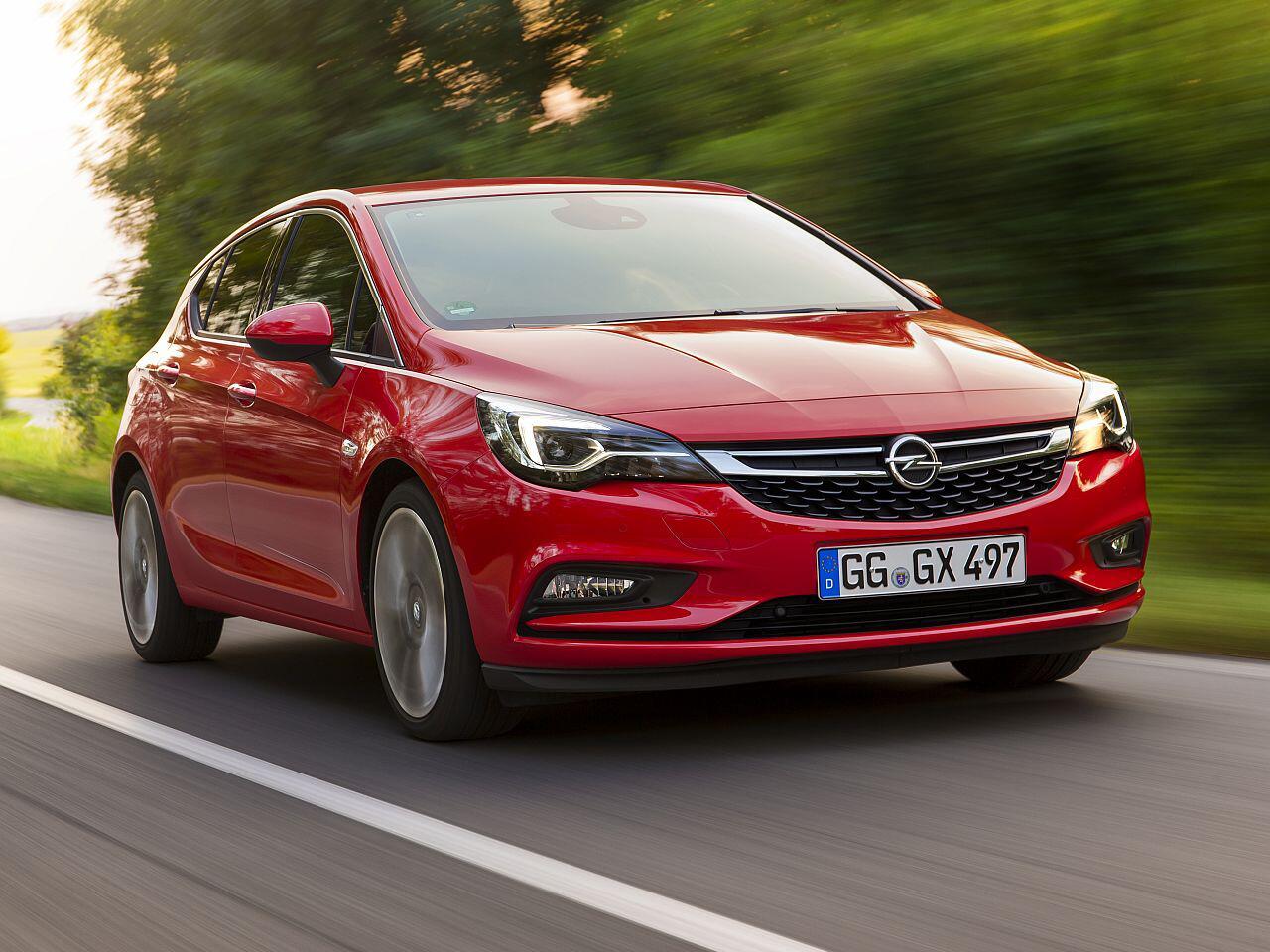 Bild zu Platz 12: Opel Astra
