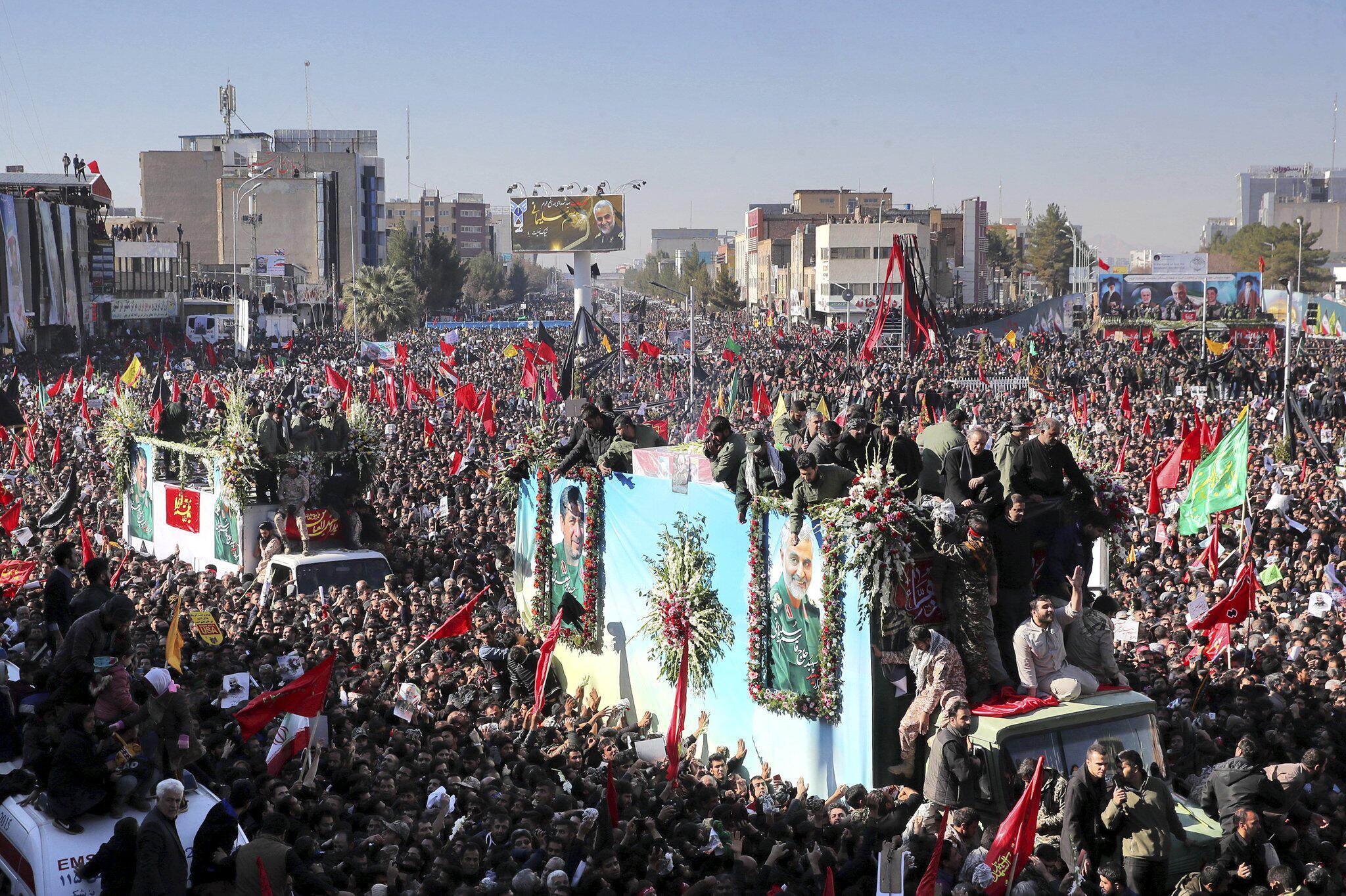 Bild zu Konflikt Iran - Trauerfeier Soleimani