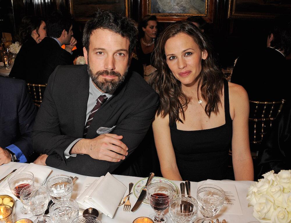 Bild zu Ben Affleck und Jennifer Garner bei einer Gala in London