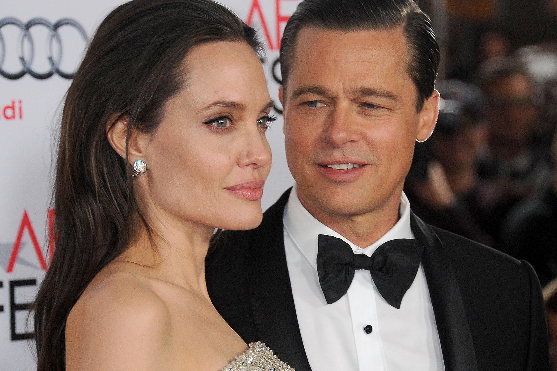Bild zu Angelina Jolie, Brad Pitt, Scheidung, Trennung, reden