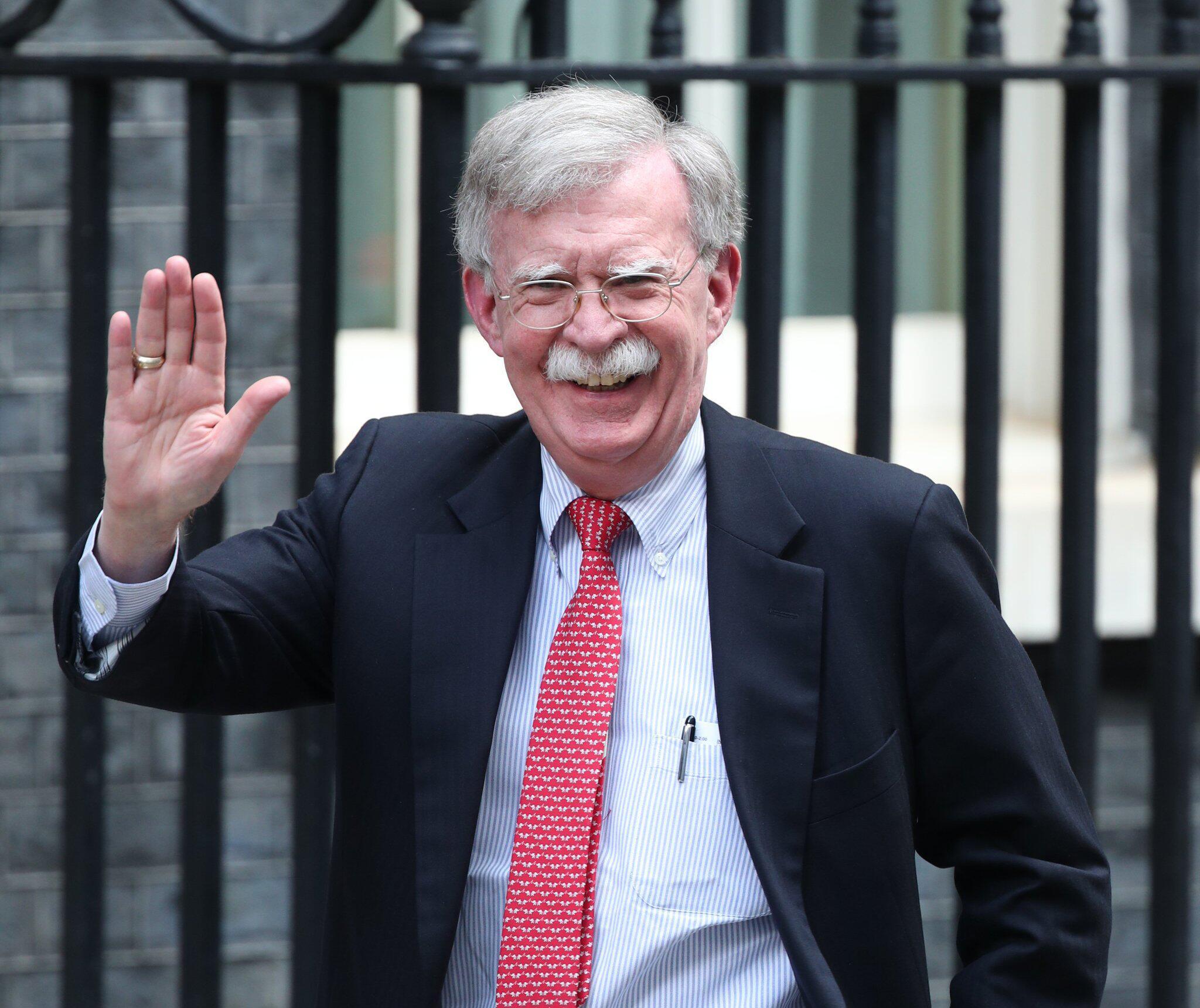 Bild zu US-Sicherheitsberater Bolton in London