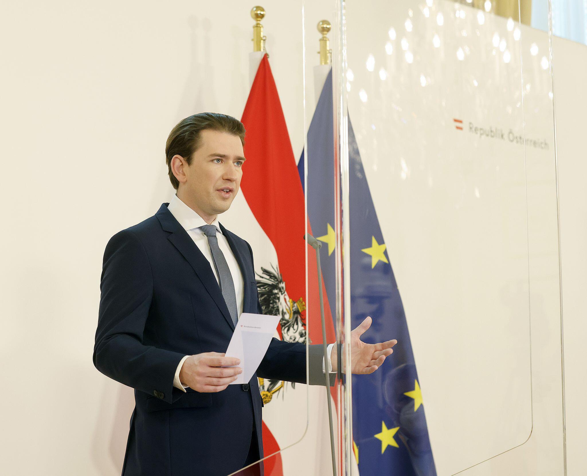 Bild zu Österreichs Bundeskanzler Kurz