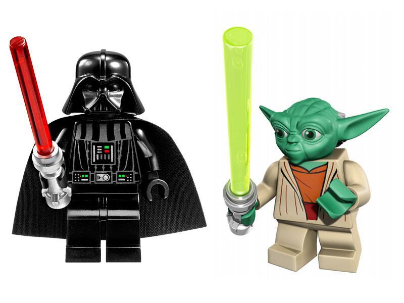 Bild zu Darth Vader und Yoda