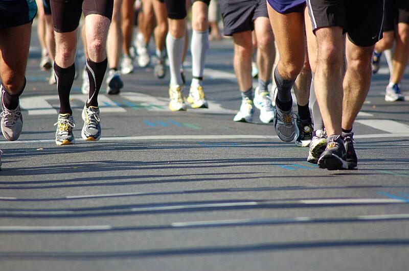 Bild zu Läufer beim Marathon