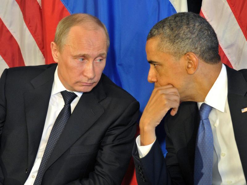 Bild zu Putin und Obama