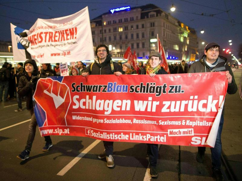 Bild zu Protest in Wien