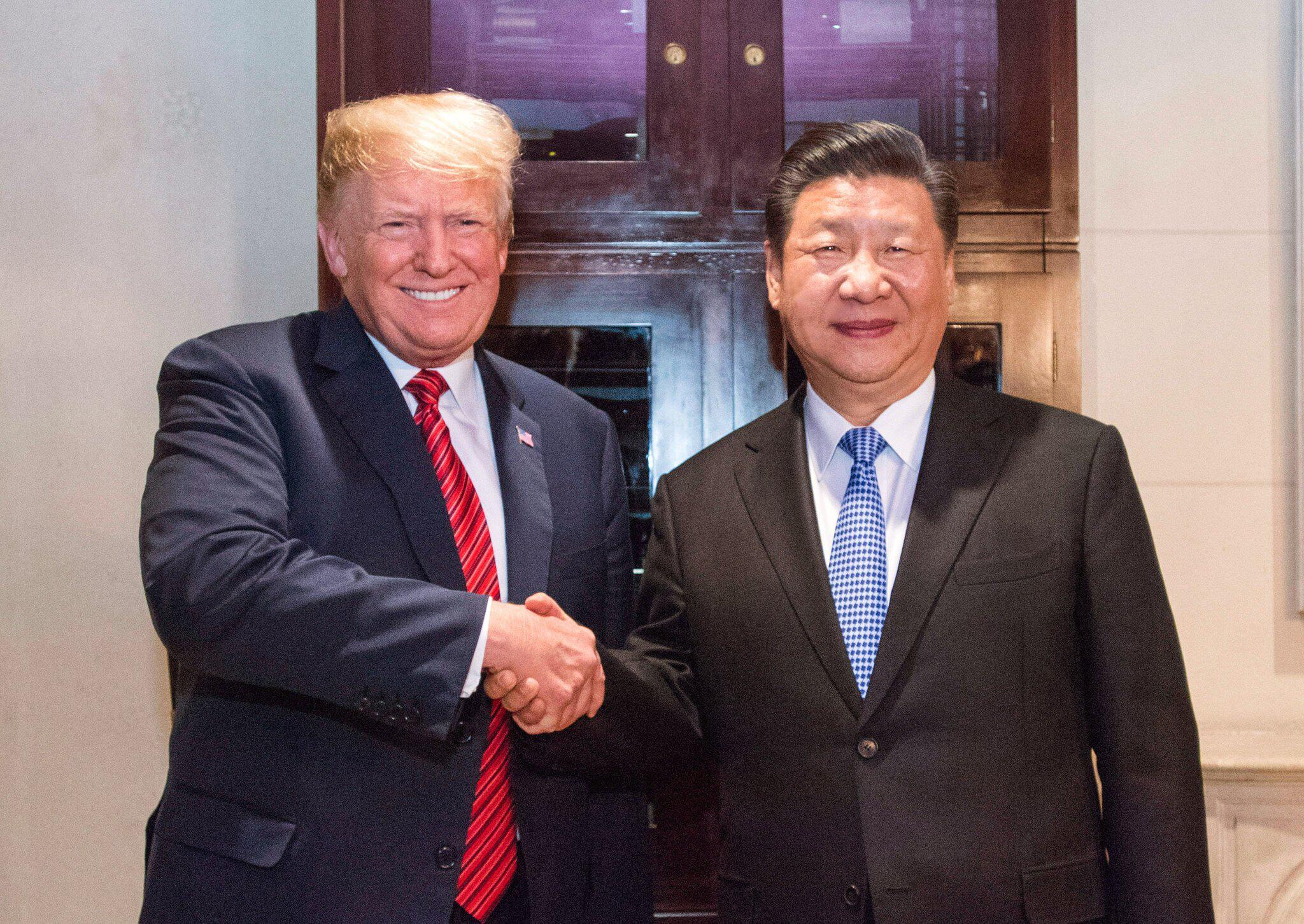 Bild zu G20-Gipfel in Argentinien - Trump und Jinping