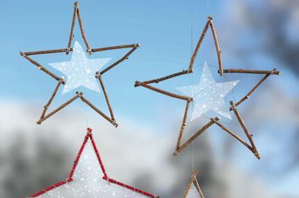 Sterne für die Adventszeit