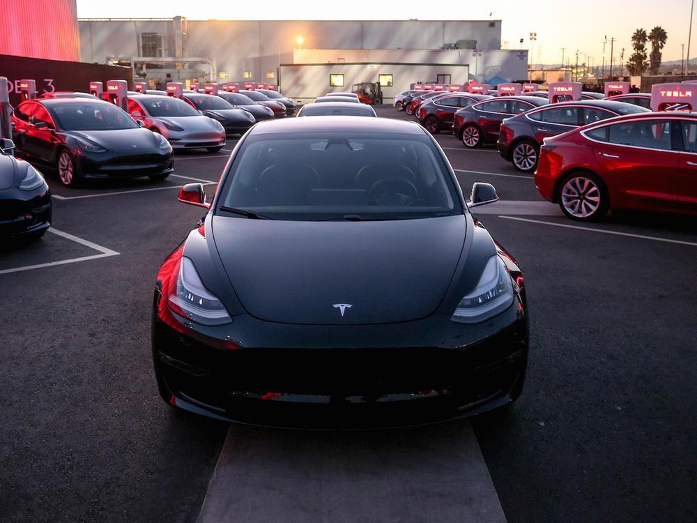 Bild zu Das erste Tesla Model 3