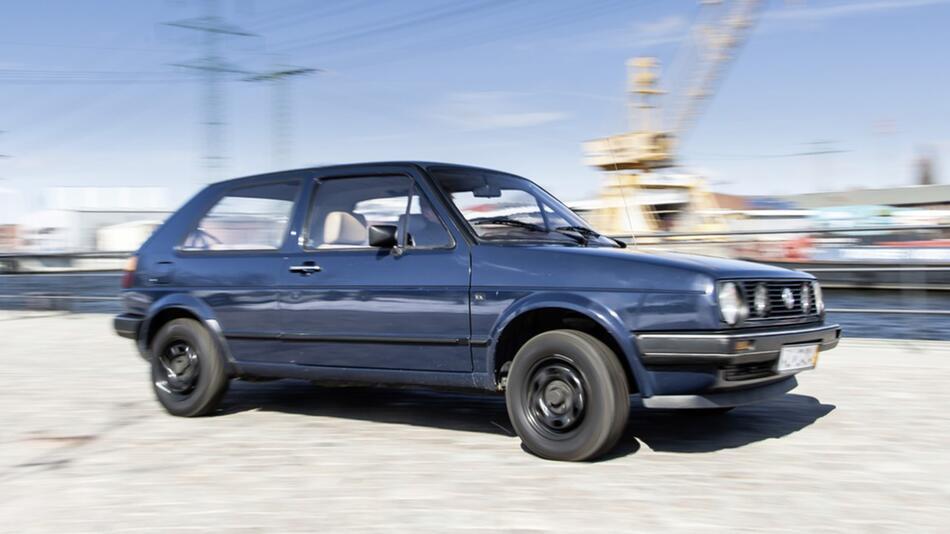 Der VW Golf 2 erlangt 2013 Oldtimer-Status
