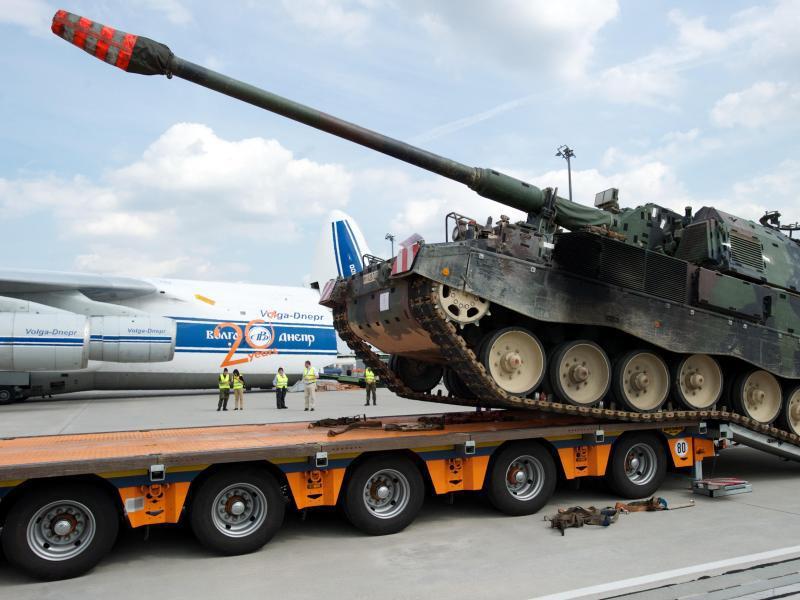Bild zu Panzerhaubitze 2000