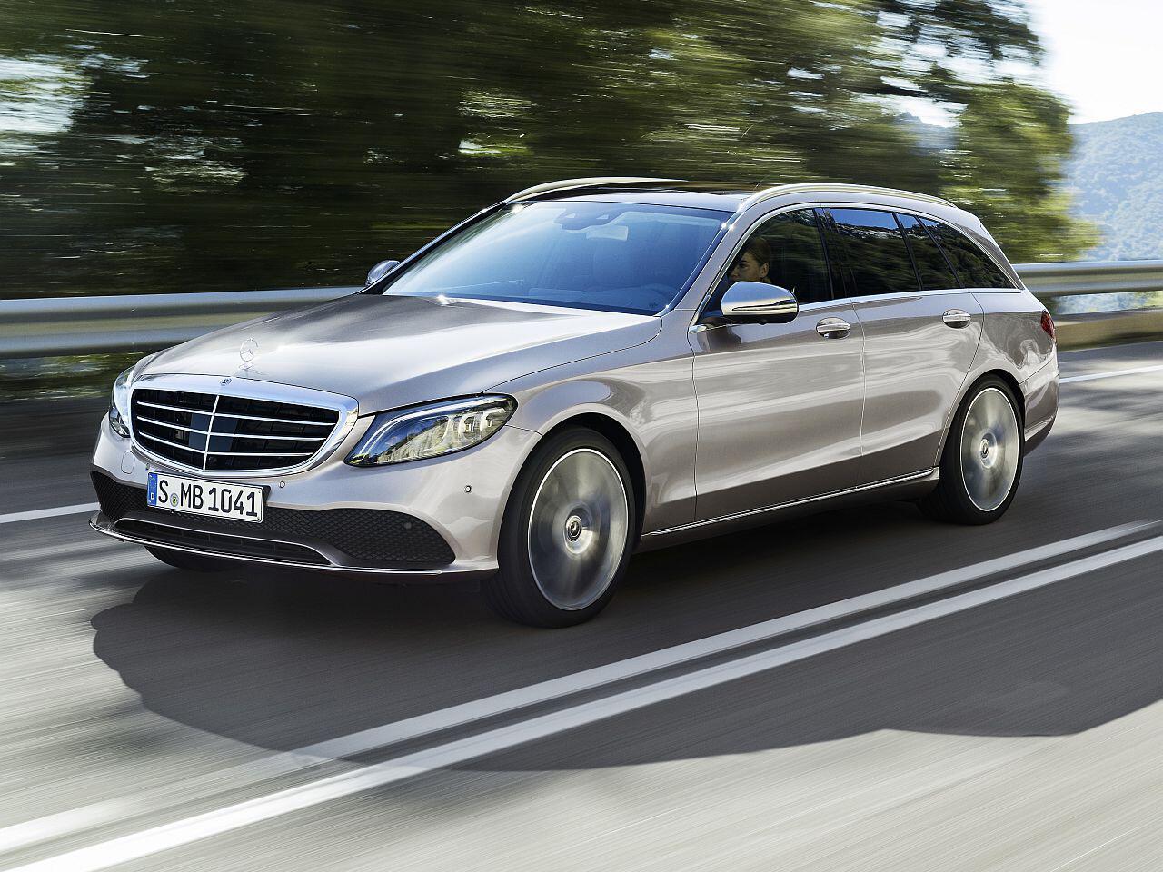 Bild zu Platz 8: Mercedes-Benz C-Klasse