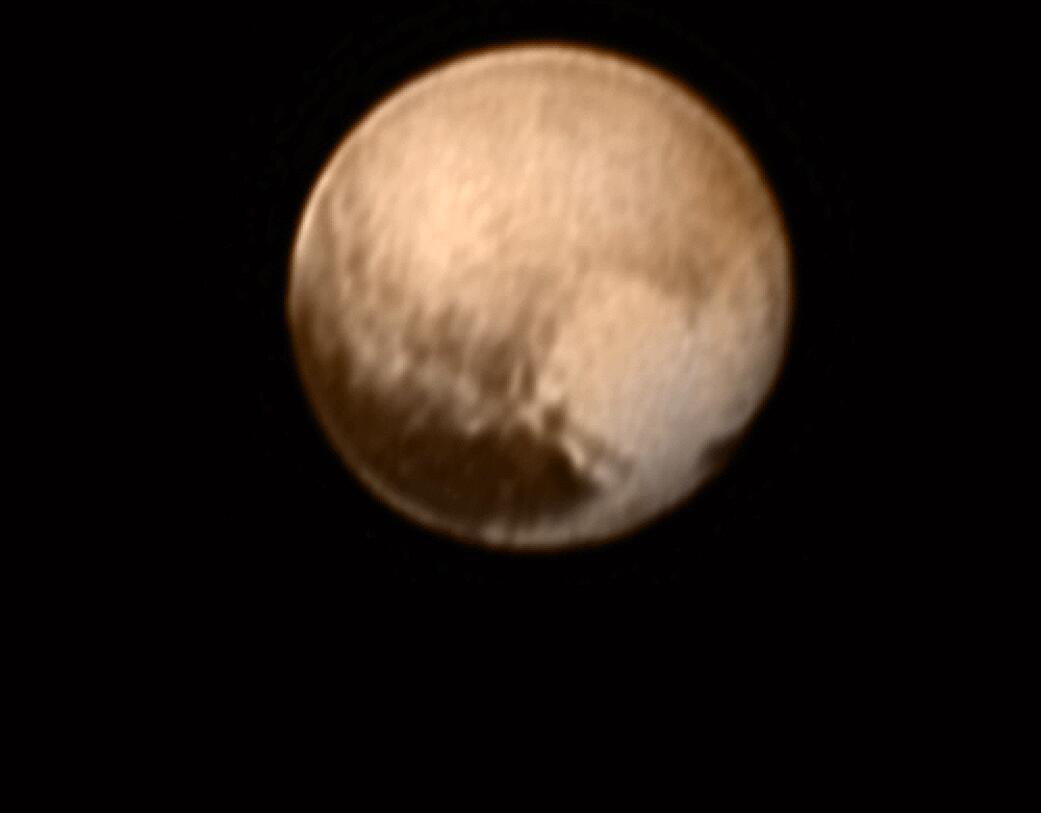 Bild zu Detailaufnahme von Pluto