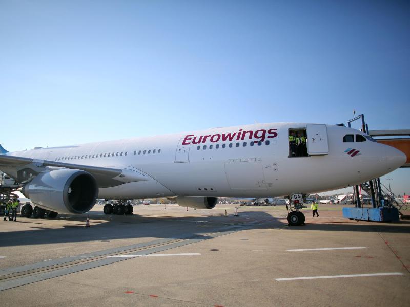 Bild zu A330 von Eurowings