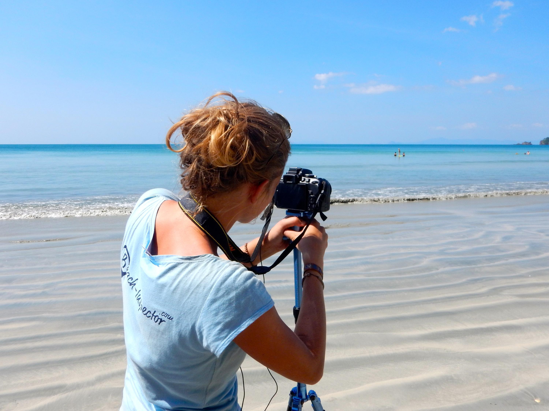 Bild zu Fotos vom Meer - sehr wichtig für die Arbeit als Beach-Inspector.