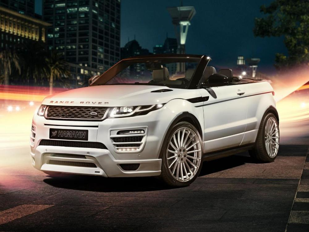 getuntes suv cabrio range rover evoque cabriolet von. Black Bedroom Furniture Sets. Home Design Ideas