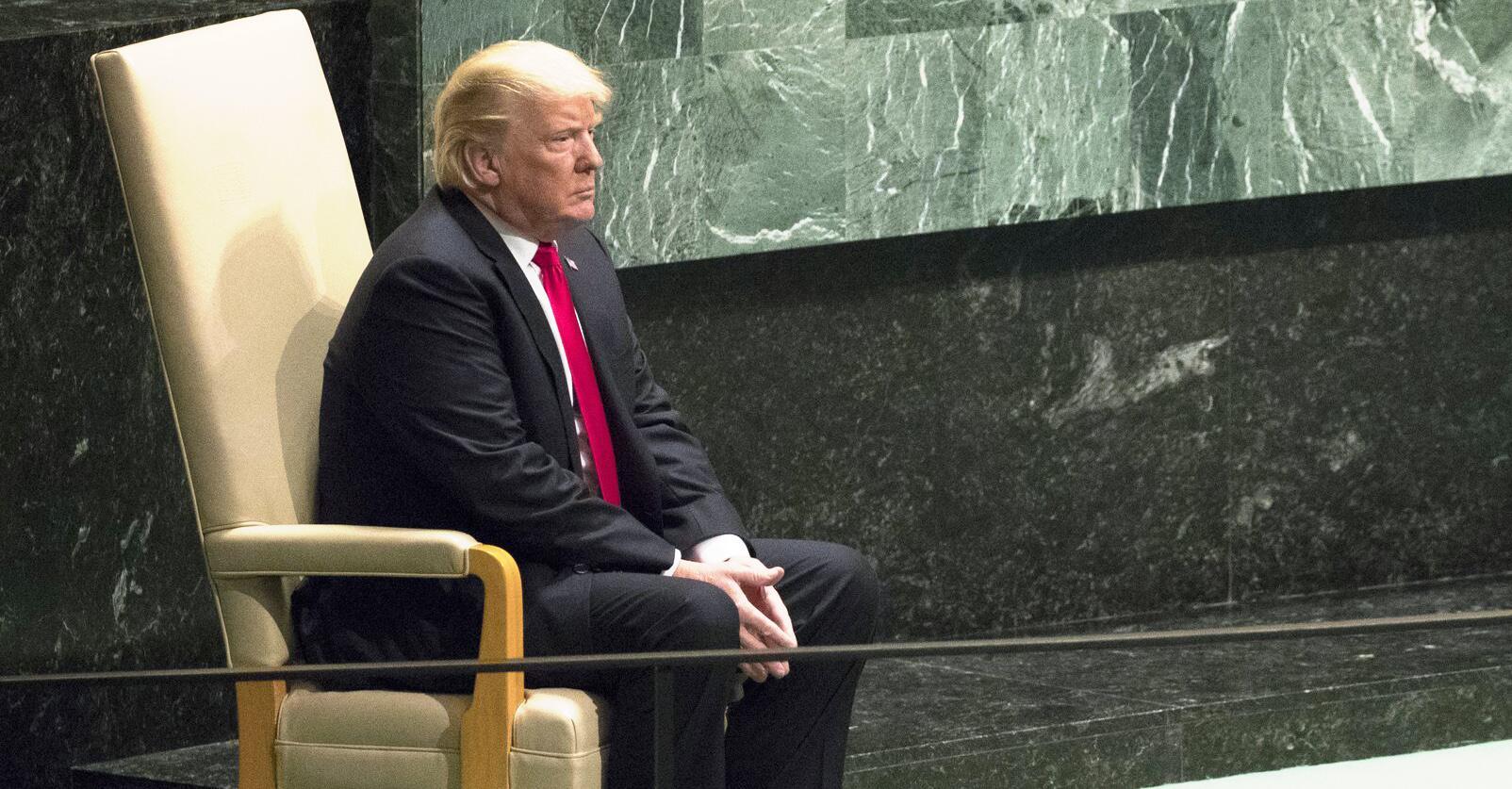 Bild zu US-Präsident Donald Trump, Iran, UN-Vollversammlung