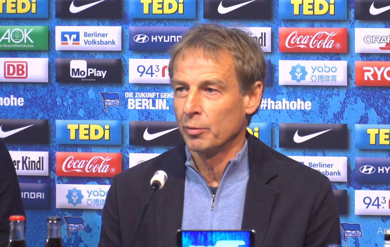 Bild zu Jürgen Klinsmann, Hertha BSC