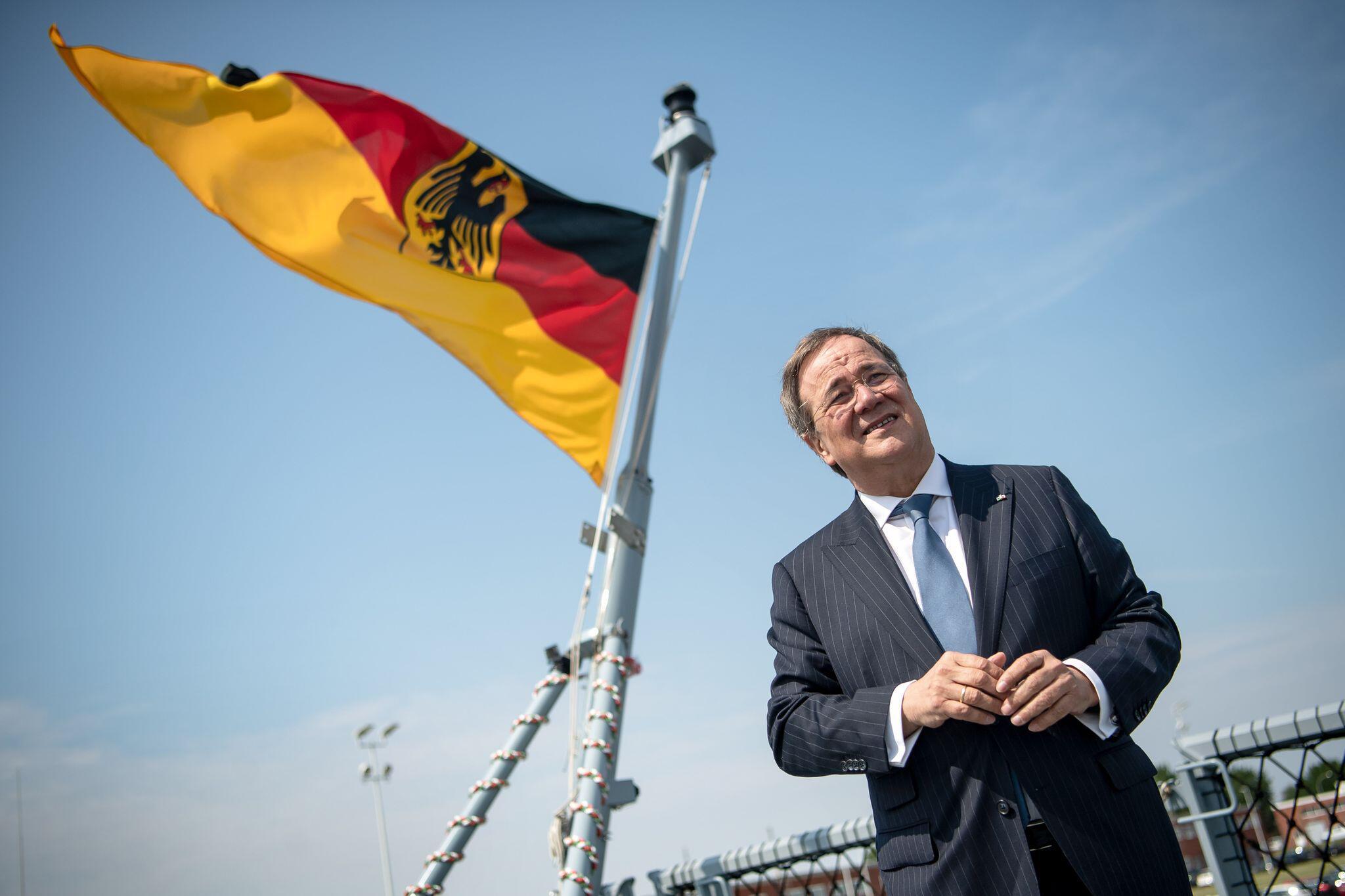 Bild zu Laschet bekräftigt CDU-Anspruch auf Kanzlerkandidatur der Union