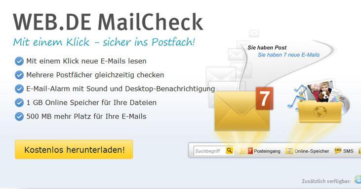 www.web.de freemail einloggen