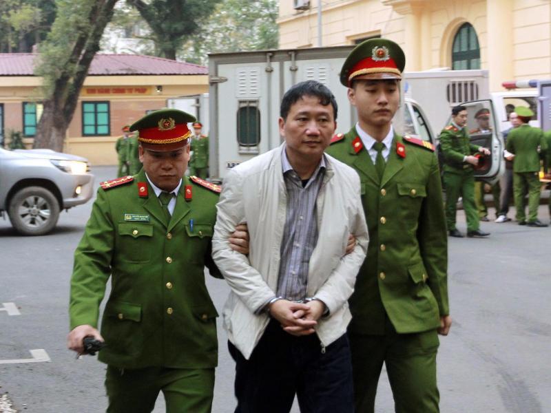Bild zu Prozess gegen Trinh Xuan Thanh
