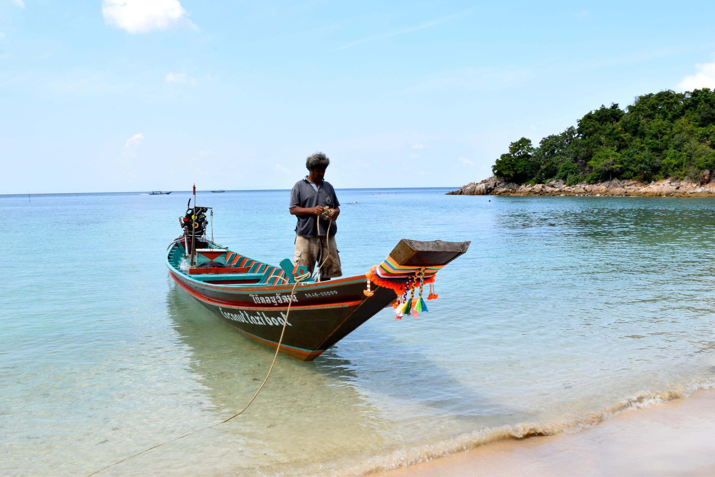 Bild zu Longtailboot am Haad Khom Beach