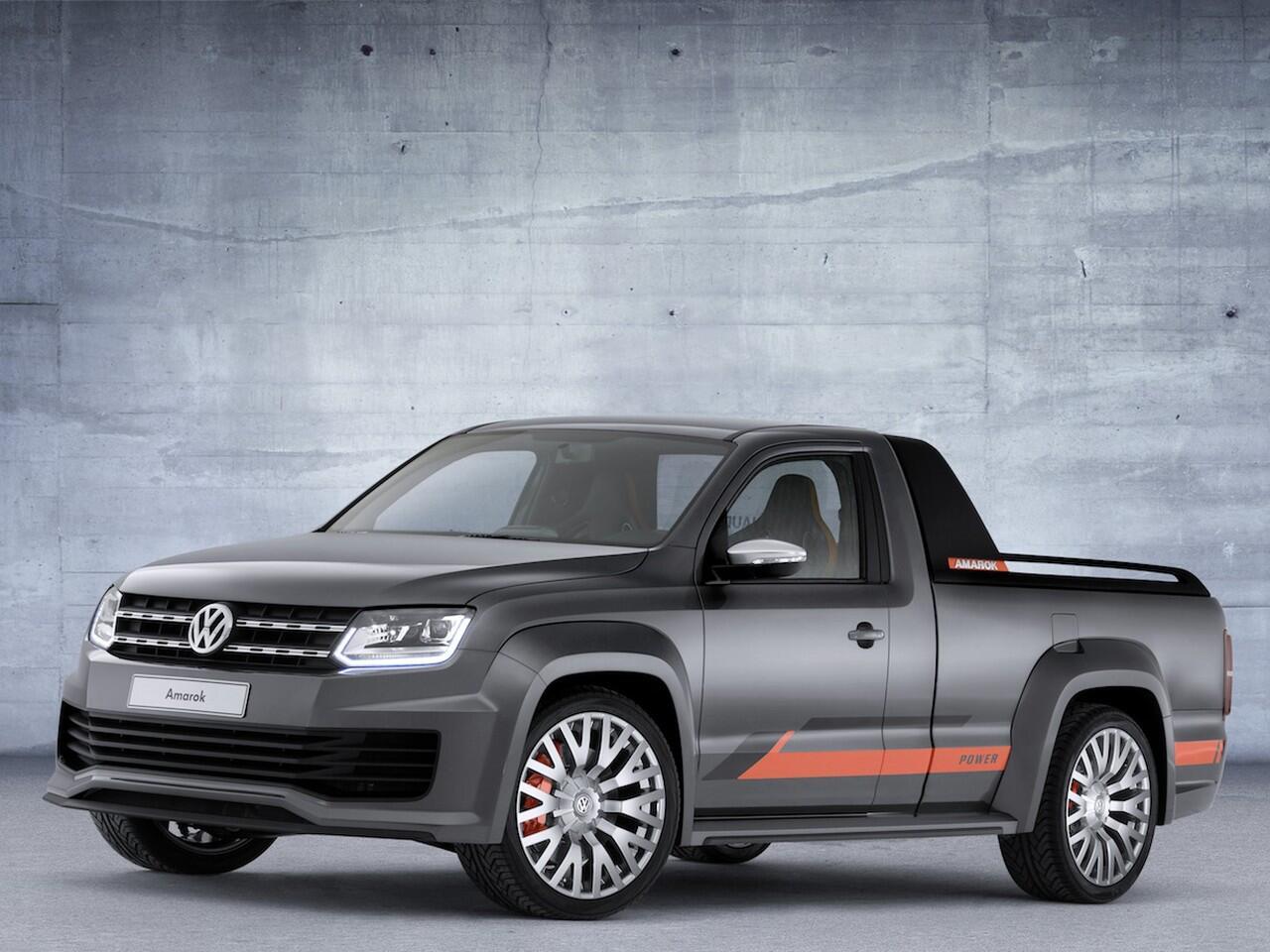 Bild zu VW Amarok Power
