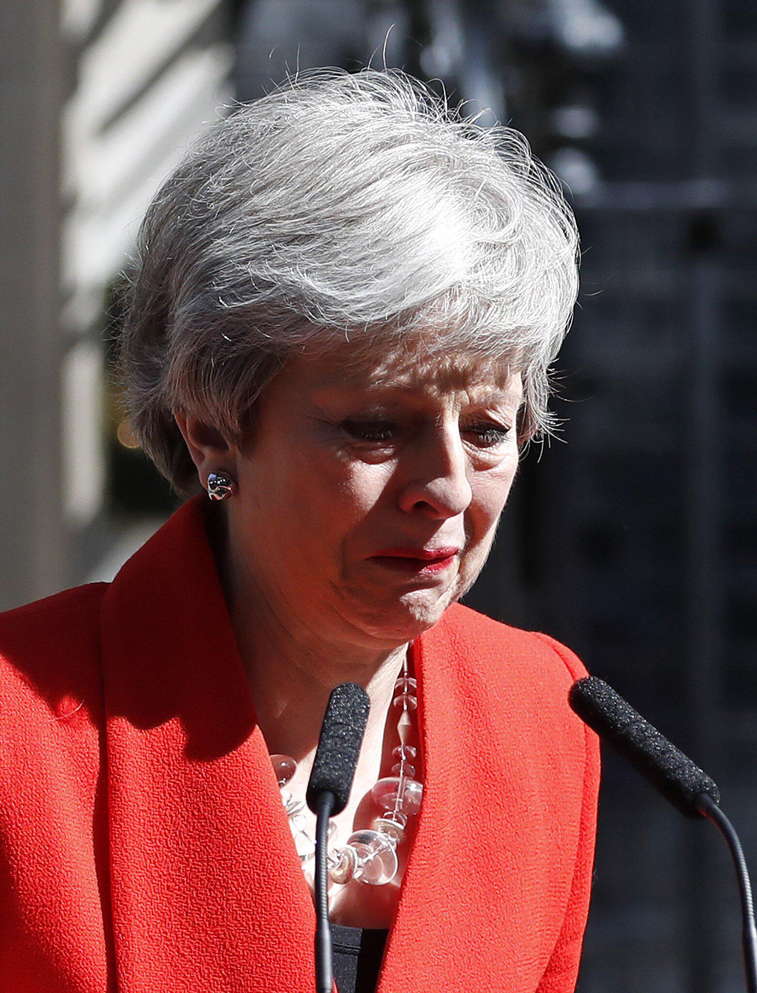 Bild zu Britische Premierministerin May kündigt Rücktritt an