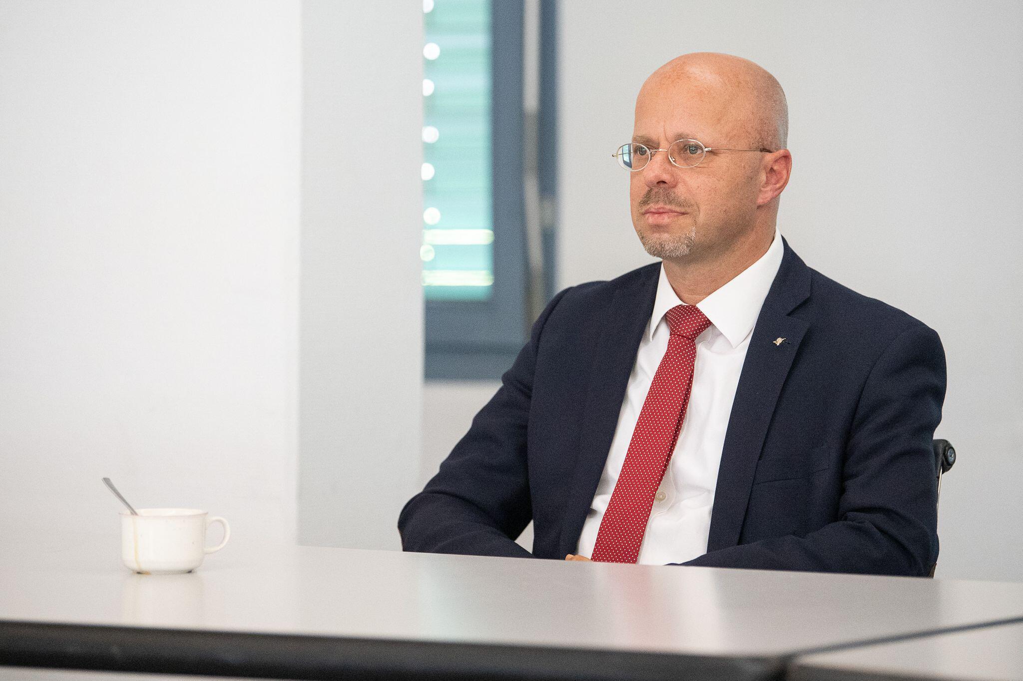 Bild zu AfD-Landtagsfraktion berät über politische Zukunft von Kalbitz