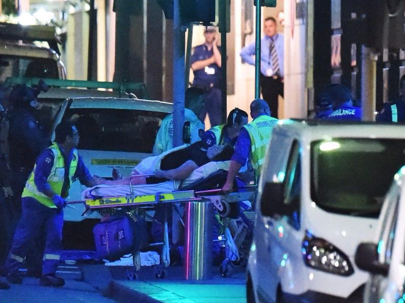 Bild zu Polizeieinsatz in Sydney