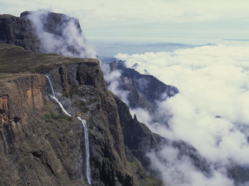 Bild zu Die südafrikanischen Tugela Falls