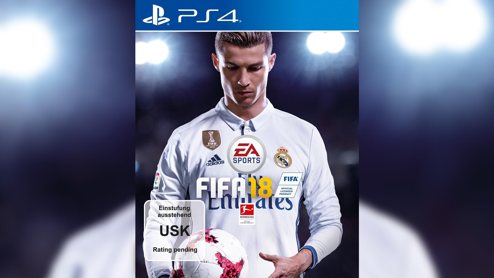 Bild zu FIFA 18, Cristiano Ronaldo, EA Sports