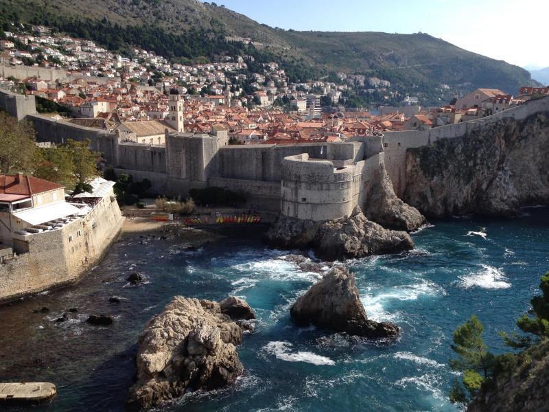 Bild zu Blick auf Dubrovnik