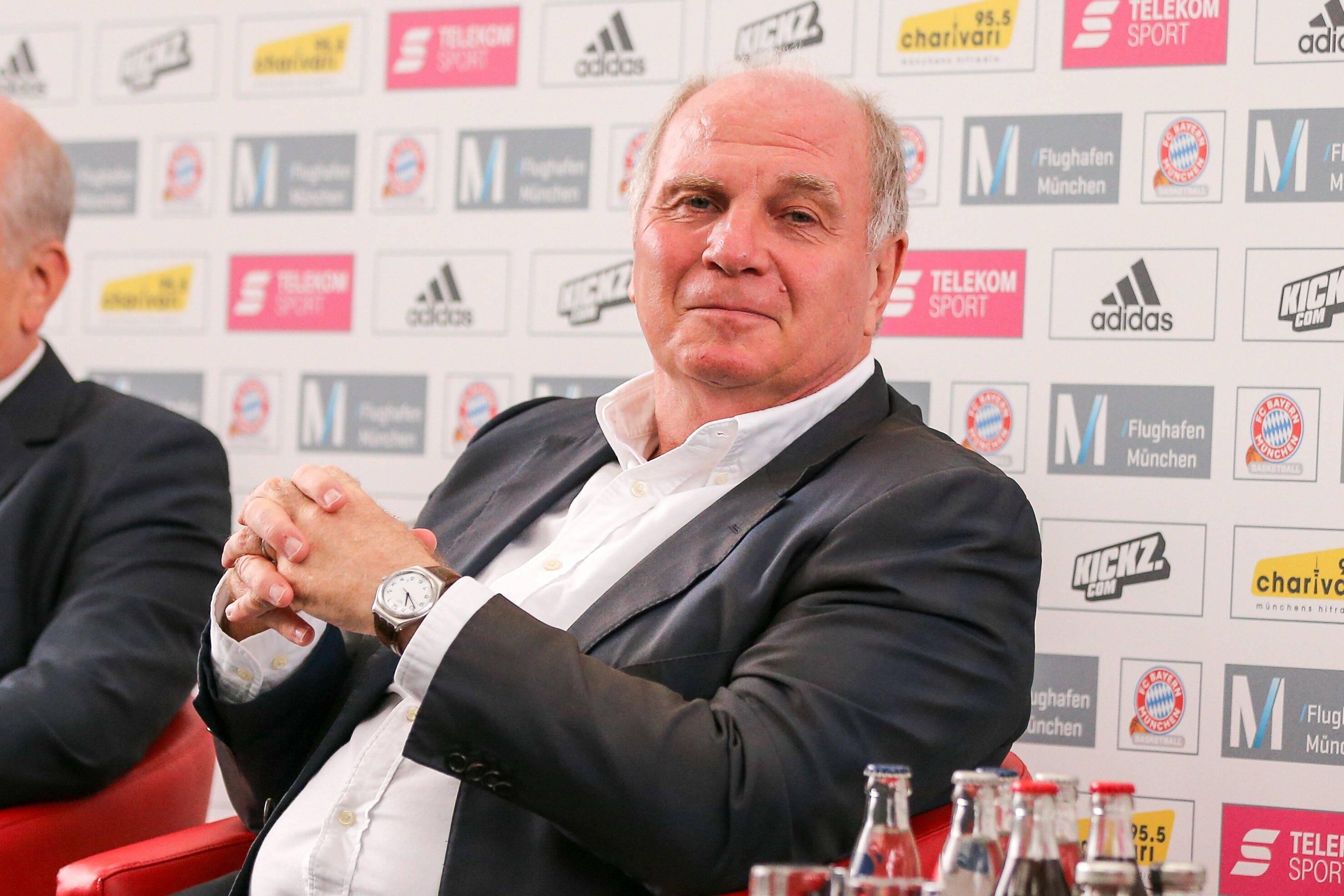 Bild zu Uli Hoeneß, FC Bayern München, Bundesliga, Präsident