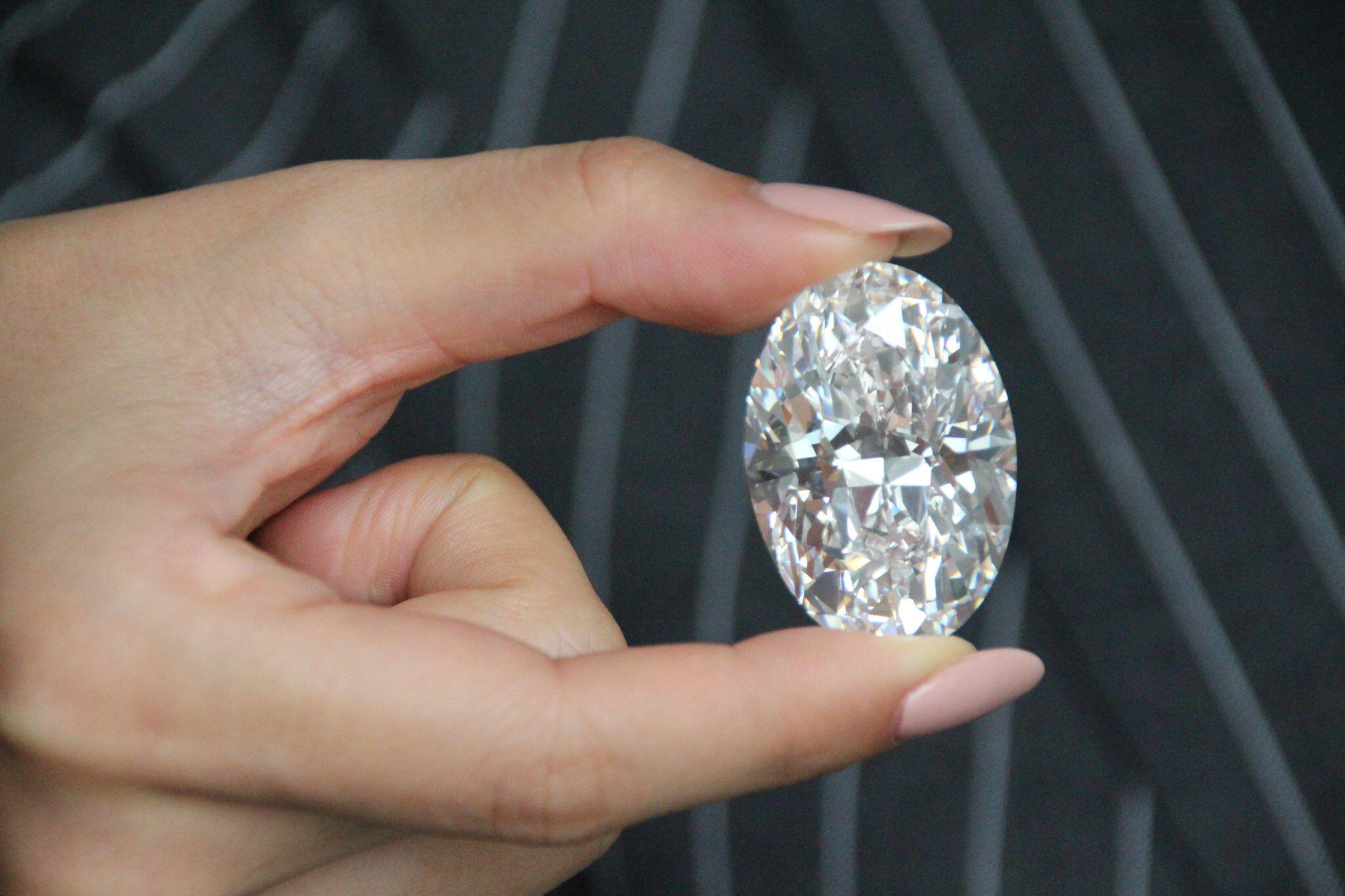 Bild zu Wertvoller Diamant aus Kanada soll in Hongkong versteigert werde