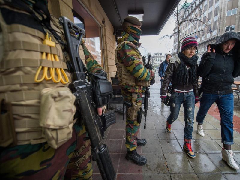Bild zu Terrorangst