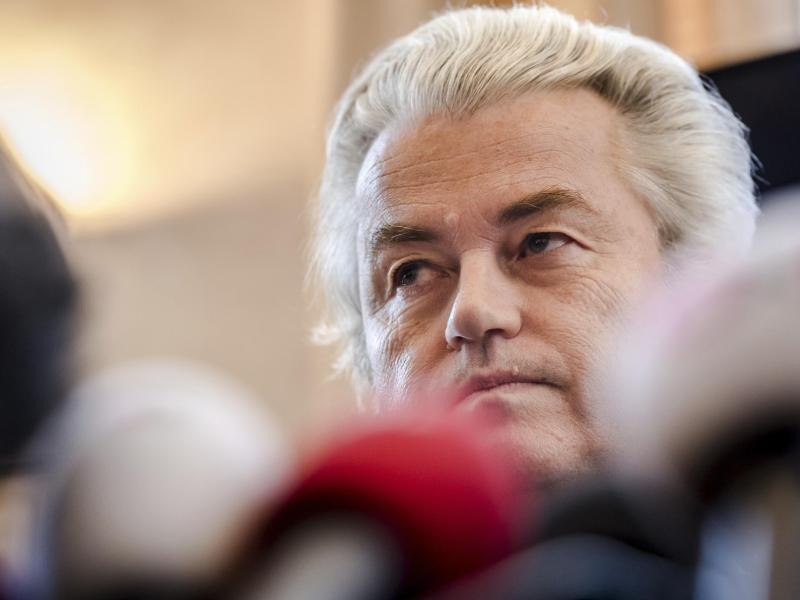 Bild zu Geert Wilders