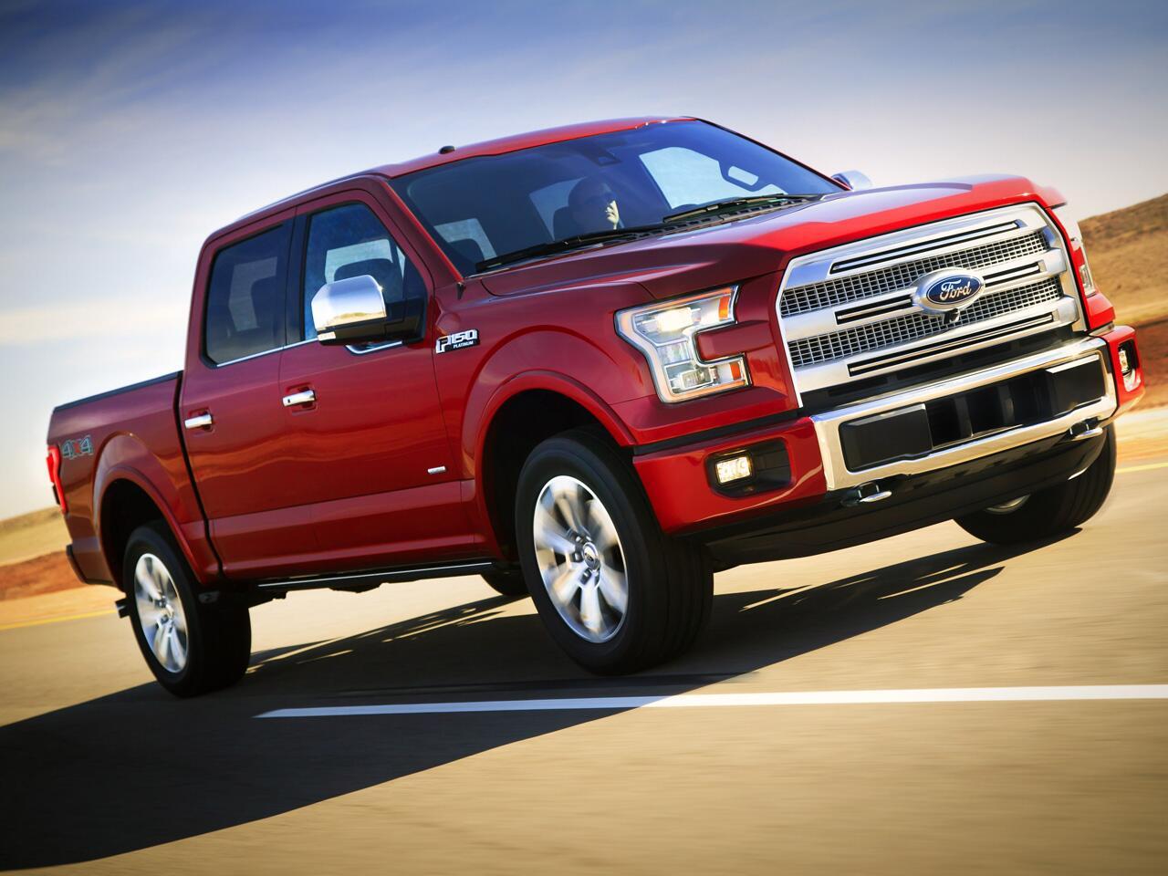 Bild zu Giganten der Straße: In den USA sind die größten SUVs und Pick-ups unterwegs