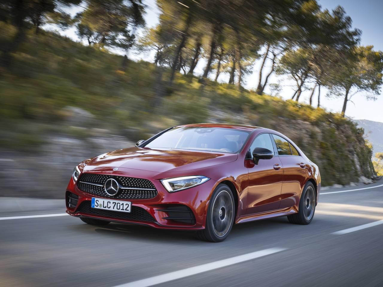 Bild zu Mercedes-Benz CLS in dritter Generation