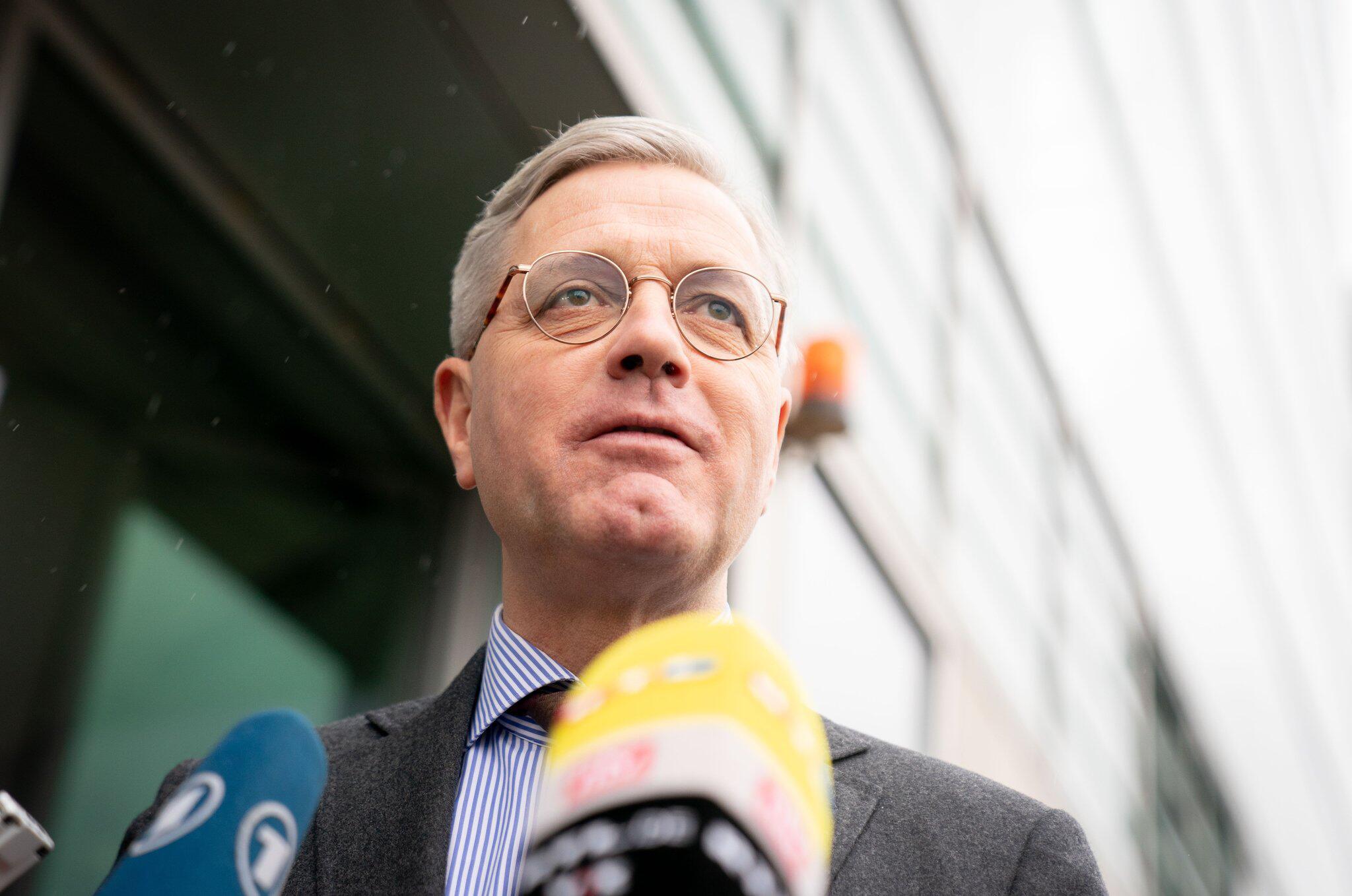 Bild zu Norbert Röttgen an der CDU-Zentrale