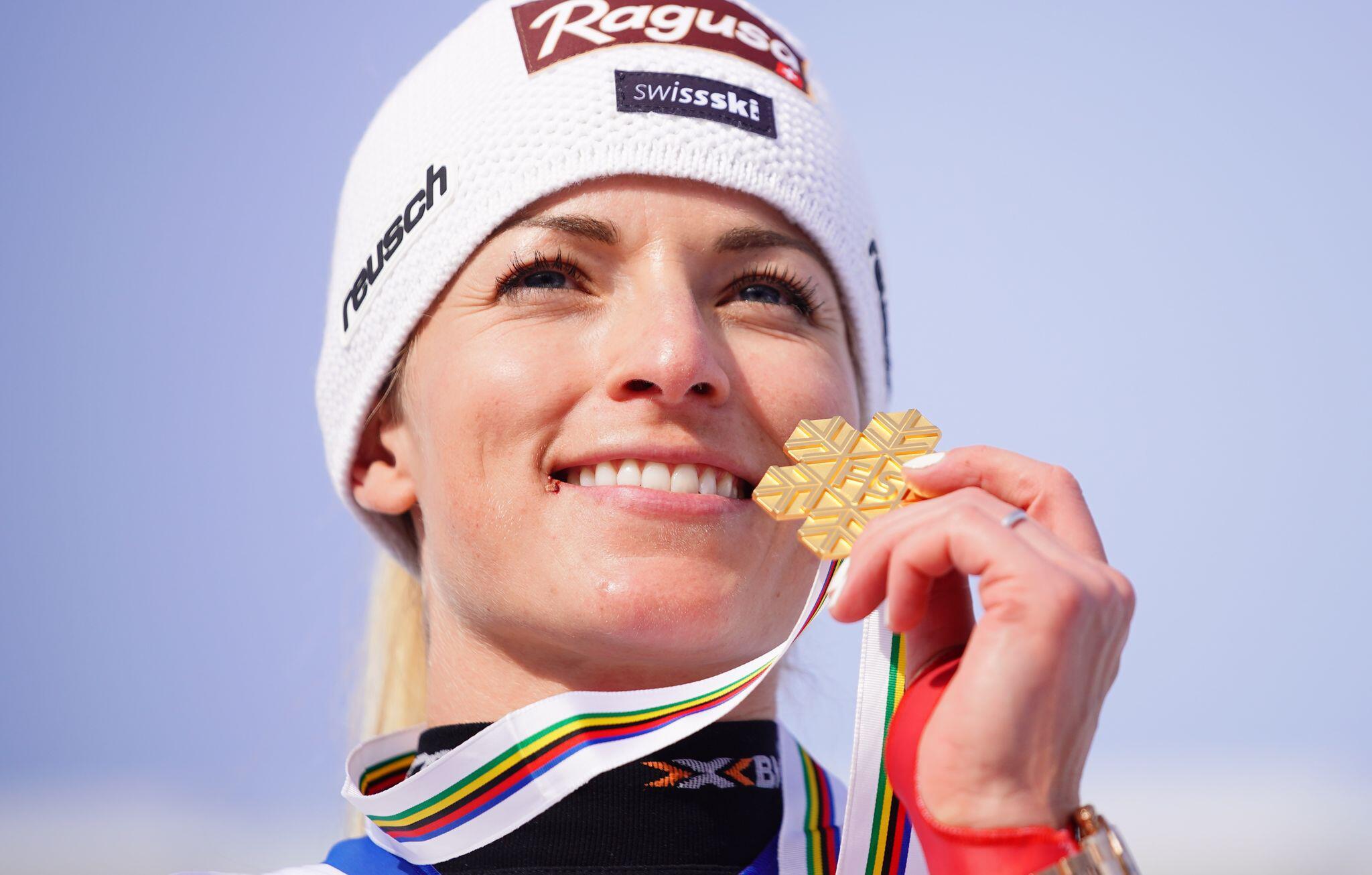 Bild zu Ski alpin: Weltmeisterschaft