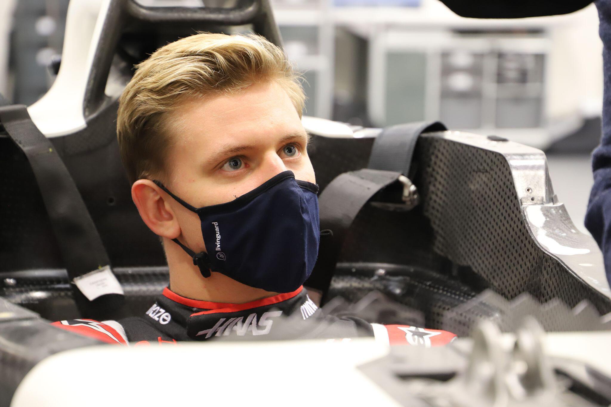Bild zu Mick Schumacher vom Formel-1-Team Haas