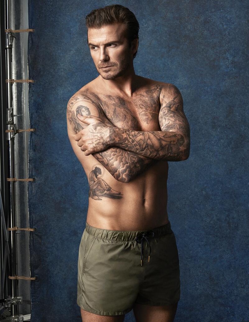 Bild zu David Beckham modelt für H&M