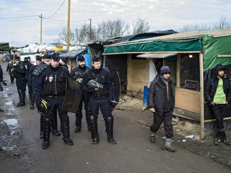 """Bild zu """"Dschungel"""" in Calais"""