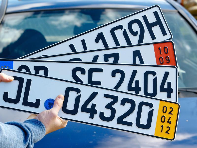 Bild zu Vielfalt deutschen Autokennzeichen