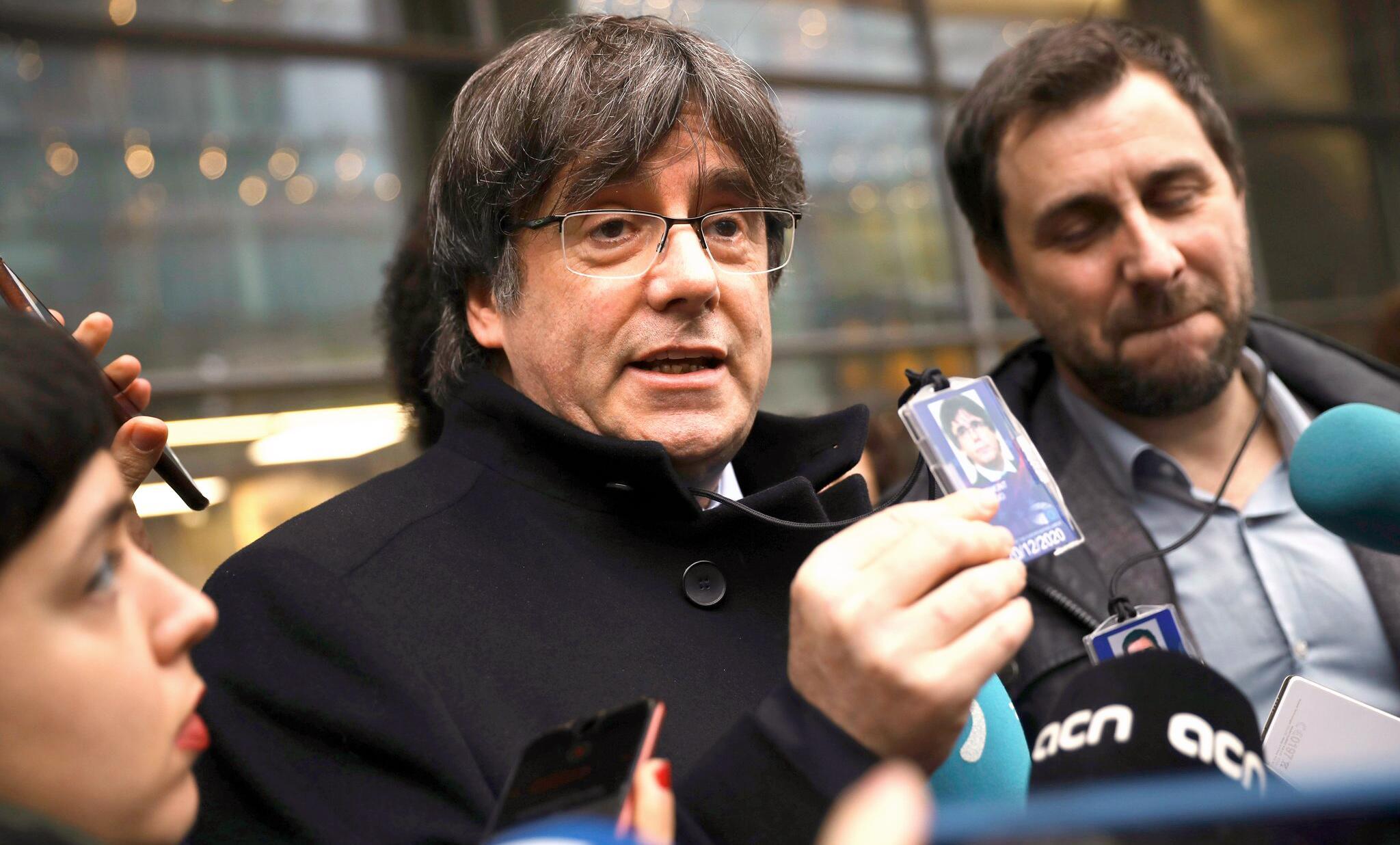 Bild zu Belgien liefert Separatisten nicht an Spanien aus