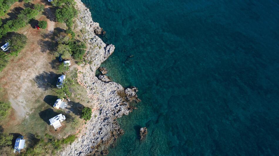 Camping, Kroatien, Urlaub, Reise, Zelten, Glamping, Mobile Home, Familienurlaub, Strand, Wohnmobil