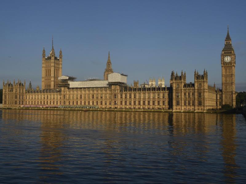 Bild zu Das Parlamentsgebäude in London