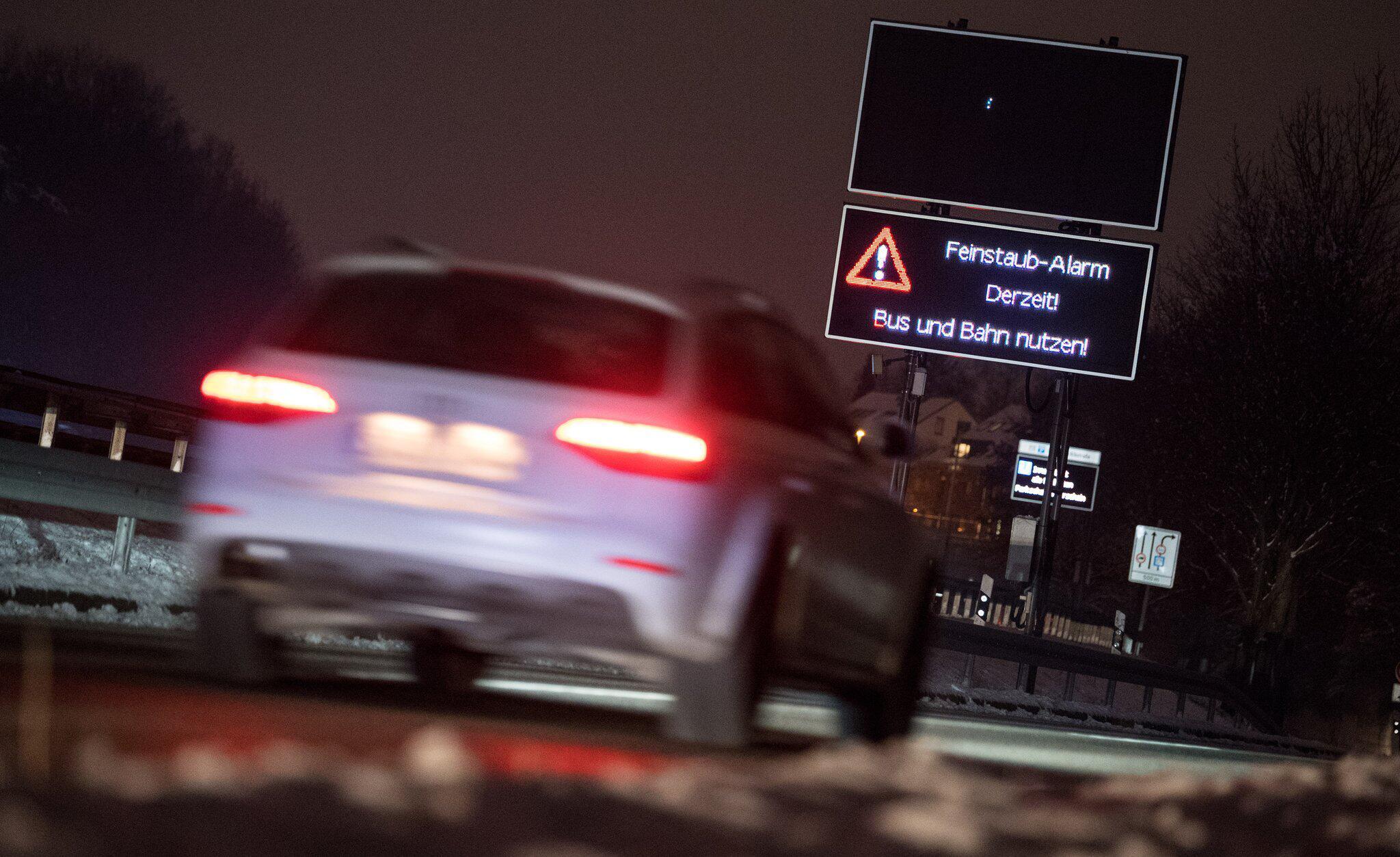 Bild zu Feinstaub-Alarm in Stuttgart