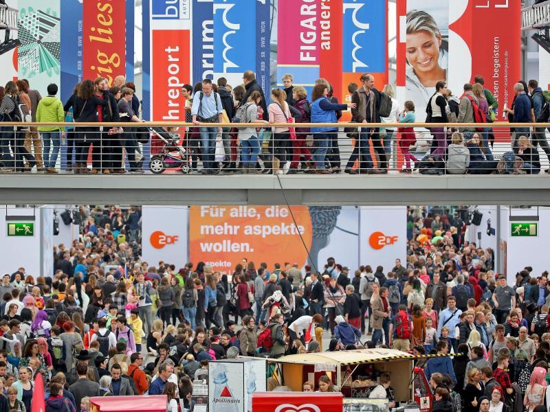 Bild zu Leipziger Buchmesse